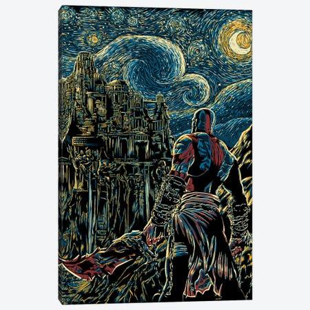 Starry Olympus Canvas Print #DOI466} by Denis Orio Ibañez Art Print