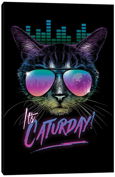 Caturday! Canvas Art Print