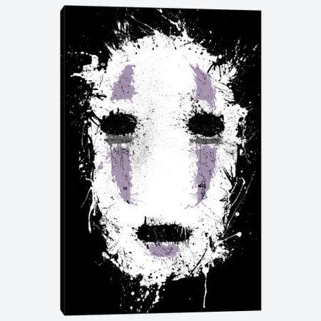 Ink No Face Canvas Print #DOI46} by Denis Orio Ibañez Canvas Print