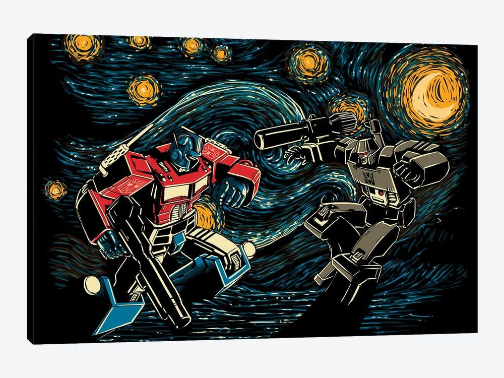Starry Battle by Denis Orio Ibañez 1-piece Canvas Art