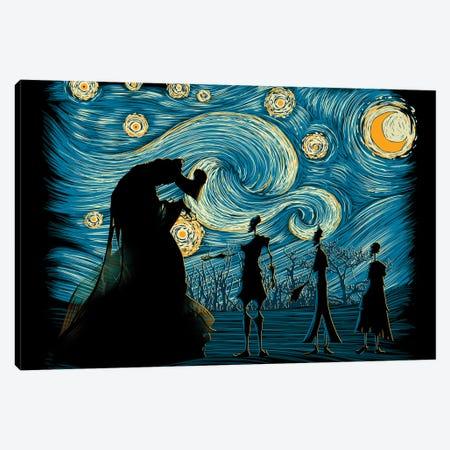 Starry Hallows Canvas Print #DOI476} by Denis Orio Ibañez Canvas Artwork