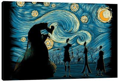 Starry Hallows Canvas Art Print