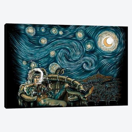 Starry Labyrinth Canvas Print #DOI478} by Denis Orio Ibañez Art Print