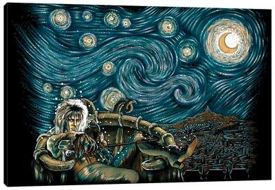 Starry Labyrinth Canvas Art Print