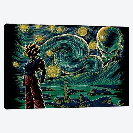 Starry Namek Canvas Print #DOI479} by Denis Orio Ibañez Canvas Print
