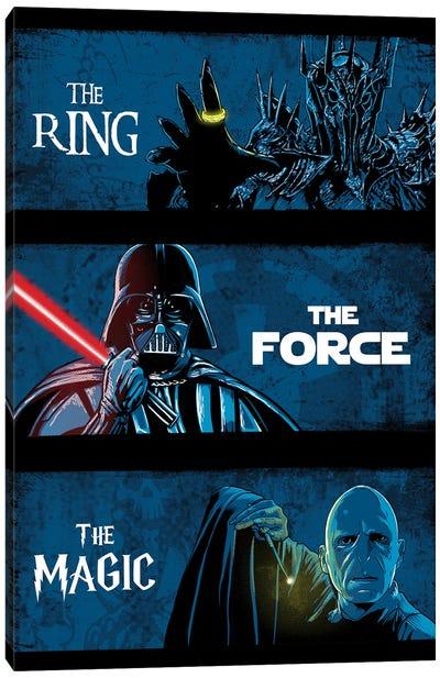 Dark Lords Canvas Art Print