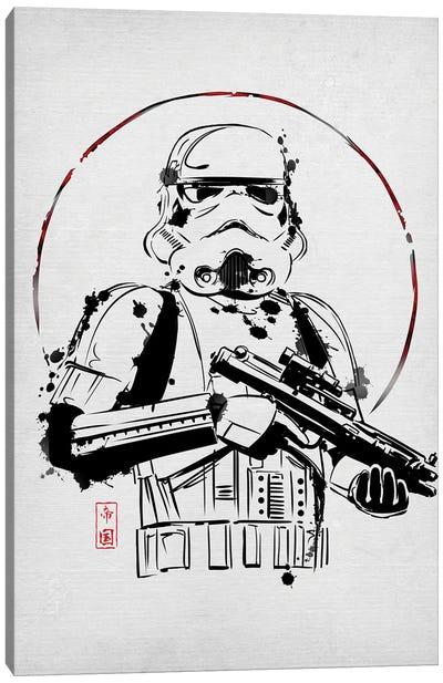 Ink Trooper Canvas Art Print