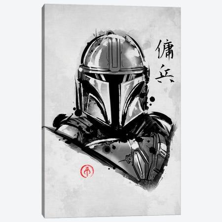 Most Wanted Mercenary Canvas Print #DOI519} by Denis Orio Ibañez Canvas Art