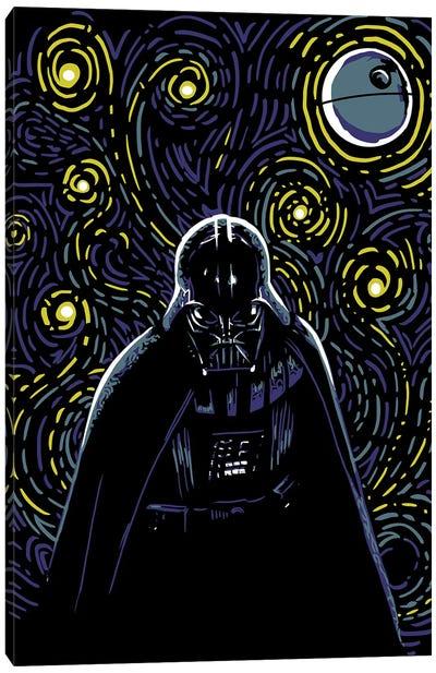 Starry Dark Side Canvas Art Print