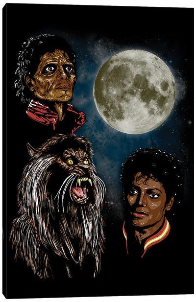 Threeller Moon Canvas Art Print