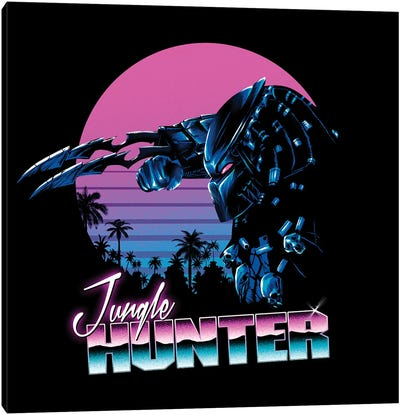 Jungle Hunter Canvas Art Print