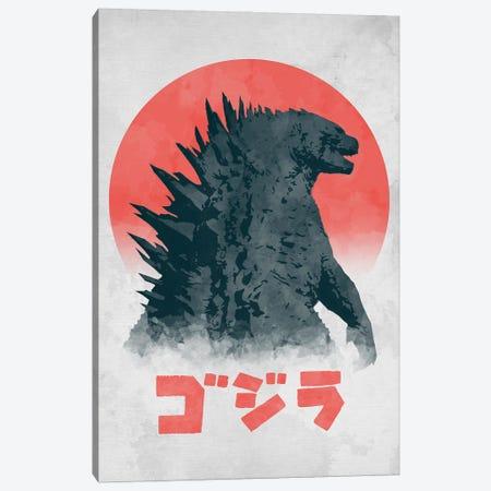Kaiju Monster Canvas Print #DOI58} by Denis Orio Ibañez Canvas Print