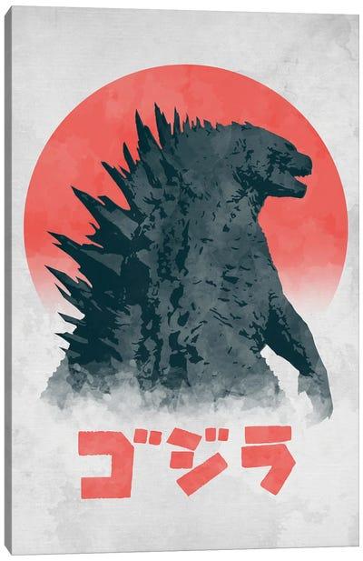 Kaiju Monster Canvas Art Print