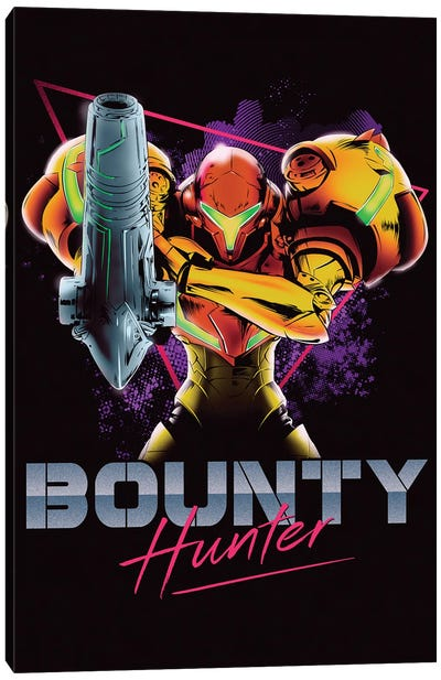 Classic Bounty Hunter Canvas Art Print