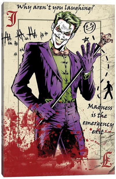 Master Criminal Canvas Art Print