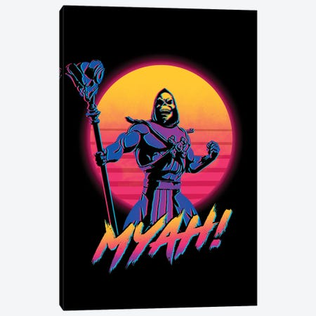 Myah! Canvas Print #DOI64} by Denis Orio Ibañez Canvas Print