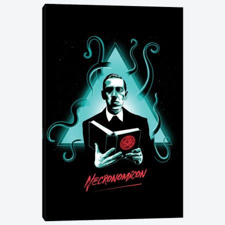 Necronomicon Canvas Print #DOI65} by Denis Orio Ibañez Canvas Print
