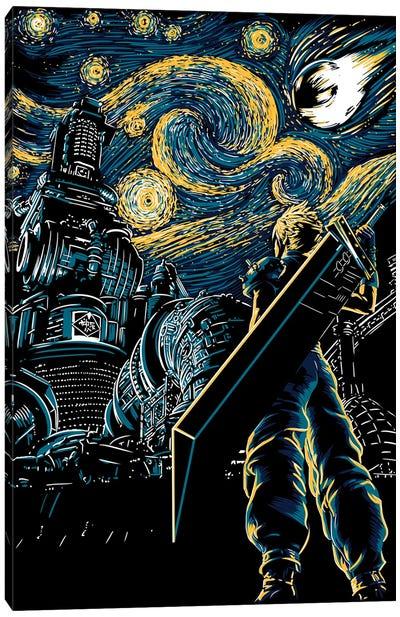 Starry Remake Canvas Art Print