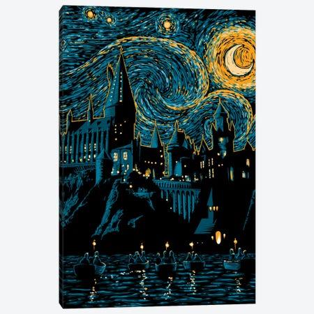 Starry School Canvas Print #DOI88} by Denis Orio Ibañez Canvas Artwork