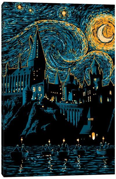 Starry School Canvas Art Print