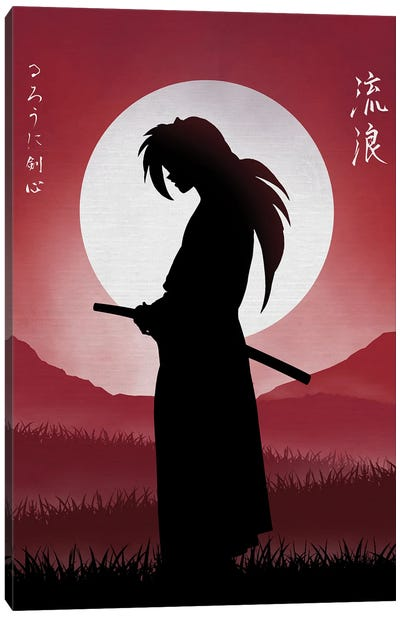 Rurouni Samurai Canvas Art Print