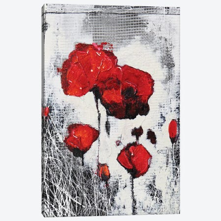 Poppie's Family Canvas Print #DOM106} by Donatella Marraoni Canvas Print