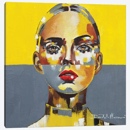 Portrait XVIII Canvas Print #DOM110} by Donatella Marraoni Art Print