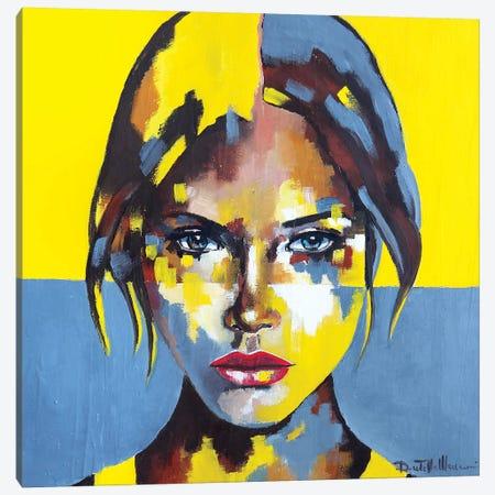 Portrait XIII Canvas Print #DOM117} by Donatella Marraoni Canvas Wall Art