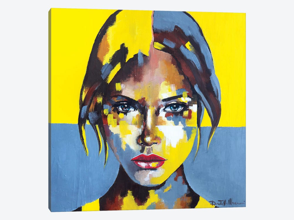 Portrait XIII by Donatella Marraoni 1-piece Canvas Art Print
