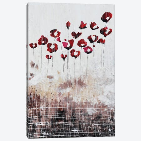 Love Poppies And Memories Canvas Print #DOM119} by Donatella Marraoni Canvas Print