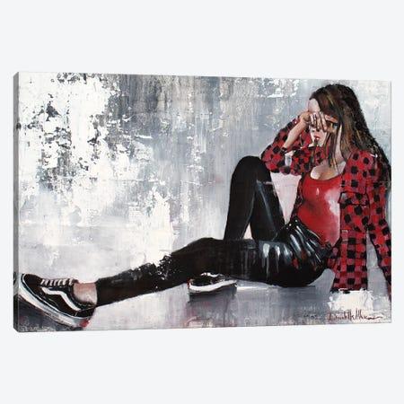 Give Me 5 Minutes Canvas Print #DOM11} by Donatella Marraoni Canvas Print