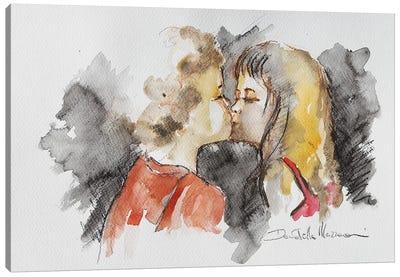 First Love Canvas Art Print