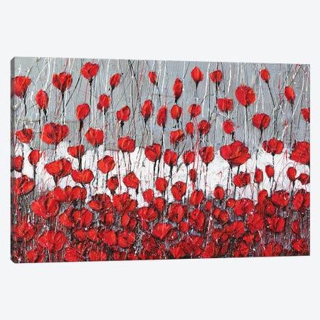 Poppies Landscape Canvas Print #DOM124} by Donatella Marraoni Canvas Print
