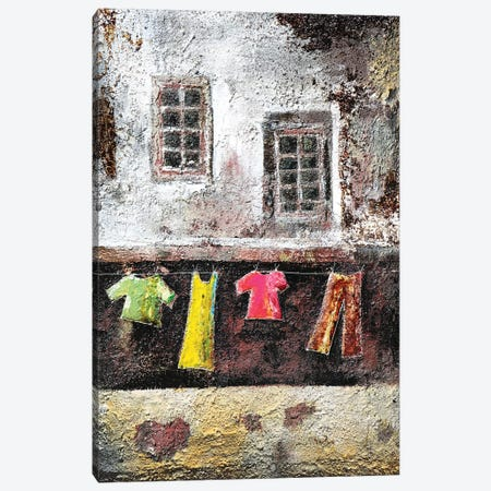 Io Resto A Casa Canvas Print #DOM127} by Donatella Marraoni Canvas Print