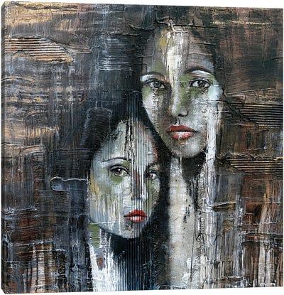 Complicity Canvas Art Print