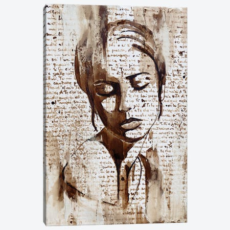 So Sorry Canvas Print #DOM134} by Donatella Marraoni Canvas Artwork