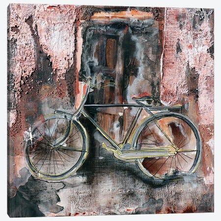 Your Bike...My Memories Canvas Print #DOM148} by Donatella Marraoni Canvas Artwork