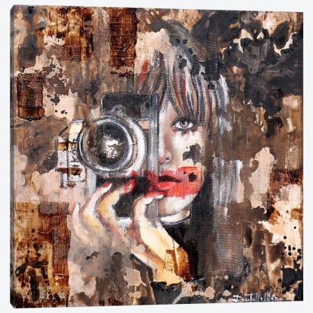 Smile Please! Canvas Print #DOM155} by Donatella Marraoni Canvas Art