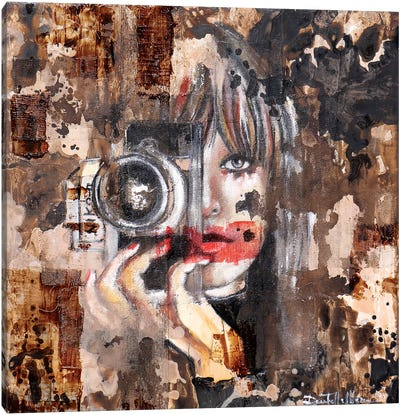 Smile Please! Canvas Art Print