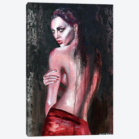 I Don't Want To Compromise Canvas Print #DOM15} by Donatella Marraoni Canvas Art