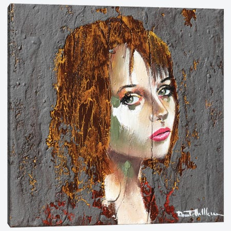 Alysia Portrait II Canvas Print #DOM162} by Donatella Marraoni Canvas Artwork