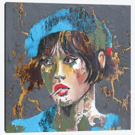 Last Cigarette Please Canvas Print #DOM163} by Donatella Marraoni Canvas Wall Art