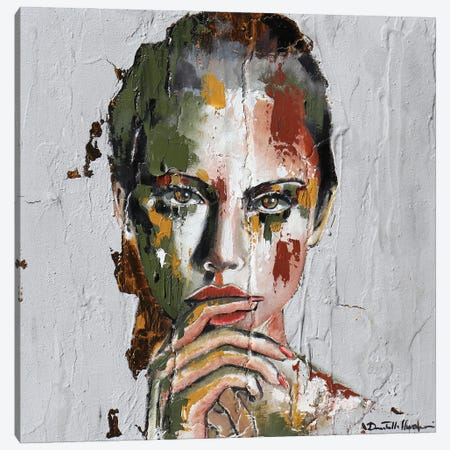 I Made A Mistake Canvas Print #DOM165} by Donatella Marraoni Art Print