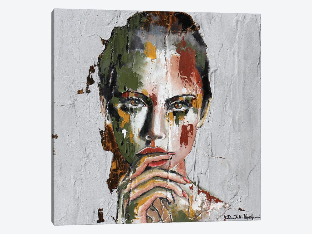 I Made A Mistake by Donatella Marraoni 1-piece Canvas Wall Art