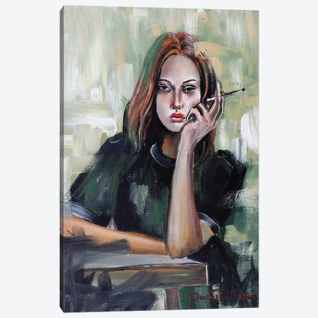 I'm So Bored Canvas Print #DOM175} by Donatella Marraoni Canvas Wall Art