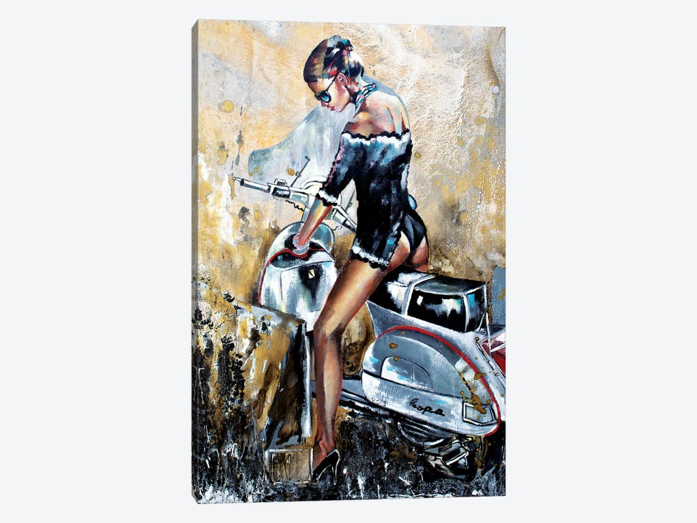 I Quit I Give Up Better by Donatella Marraoni 1-piece Canvas Art Print