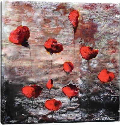 Landscape In Love Canvas Art Print