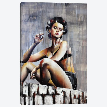 It's Time To Leave Canvas Print #DOM22} by Donatella Marraoni Canvas Wall Art