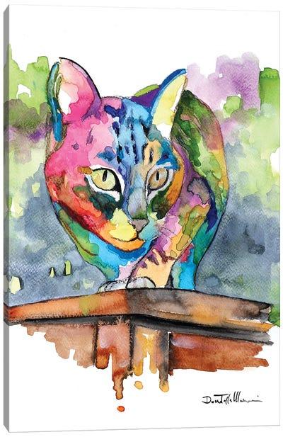 Molto Più Di Un Gatto Canvas Art Print