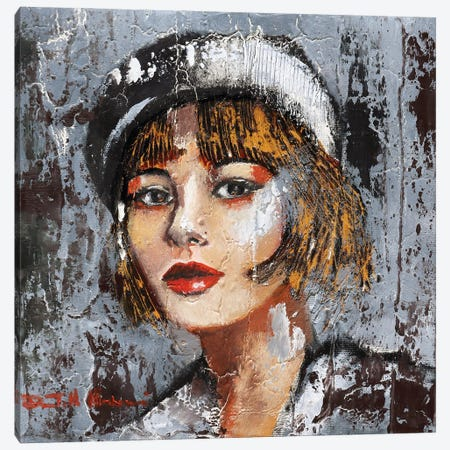 Suspicious Canvas Print #DOM243} by Donatella Marraoni Art Print